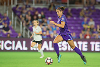 Orlando, FL - Saturday August 12, 2017: Alex Morgan during a regular season National Women's Soccer League (NWSL) match between the Orlando Pride and Sky Blue FC at Orlando City Stadium.