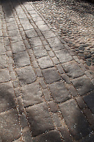 Paving stones, LKouisburg Square, Pinckney Street, Beacon Hill, Boston, MA