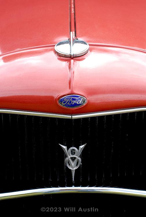 Pre-war Ford, slightly rodded