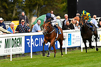Winner of The Irish Yearling Sales Nursery ridden by Oisin Murphy and trained by Martyn Meade during the Bathwick Tyres & EBF Race Day at Salisbury Racecourse on 6th September 2018
