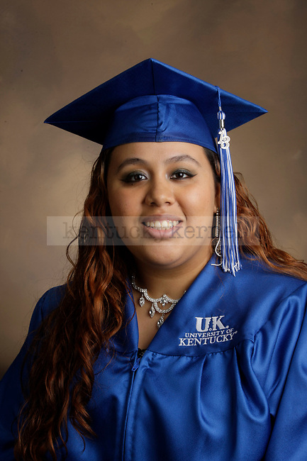 Barrios, Jobeth photographed during the Feb/Mar, 2013, Grad Salute in Lexington, Ky.