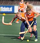2014 1e training Oranje dames onder Sjoerd