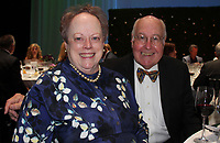 NWA Democrat-Gazette/CARIN SCHOPPMEYER Mary and and Reed Greenwood enjoy the Winemaker's Dinner.