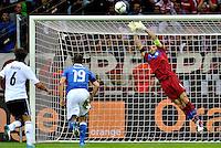 """Parata di Gianluigi Buffon.Varsavia 28/06/2012  """"Stadion Narodowy"""".Football calcio Europeo 2012 Germania Vs Italia.Football Calcio Euro 2012.Foto Adam Nurkiewicz/Panoramic/Insidefoto"""