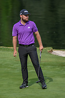 Tyrrell Hatton (ENG) reacts to barely missing his birdie putt on 17 during round 4 of the World Golf Championships, Mexico, Club De Golf Chapultepec, Mexico City, Mexico. 2/24/2019.<br /> Picture: Golffile | Ken Murray<br /> <br /> <br /> All photo usage must carry mandatory copyright credit (© Golffile | Ken Murray)