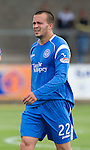 St Johnstone FC.... Season 2010-11.Steven Milne.Picture by Graeme Hart..Copyright Perthshire Picture Agency.Tel: 01738 623350  Mobile: 07990 594431