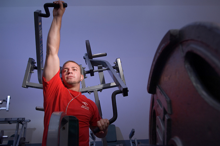 18267...Eric Jurkovic Working out
