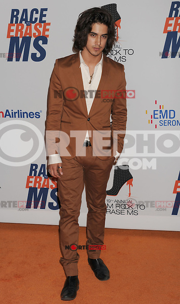 CENTURY CITY, CA - MAY 18: Avan Jogia arrives at the 19th Annual Race To Erase MS Event at the Hyatt Regency Century Plaza on May 18, 2012 in Century City, California.
