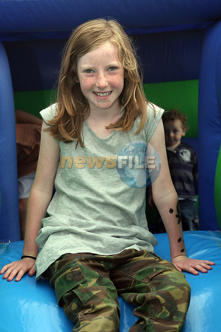 Orla Butler at the Annual Family Fun Day in 5 Oaks...Photo NEWSFILE/Jenny Matthews.(Photo credit should read Jenny Matthews/NEWSFILE)....This Picture has been sent you under the condtions enclosed by:.Newsfile Ltd..The Studio,.Millmount Abbey,.Drogheda,.Co Meath..Ireland..Tel: +353(0)41-9871240.Fax: +353(0)41-9871260.GSM: +353(0)86-2500958.email: pictures@newsfile.ie.www.newsfile.ie.FTP: 193.120.102.198.