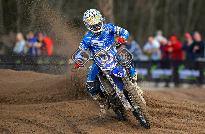 Jay Wilson / GYTR Yamaha<br /> Monster Energy MX Nationals / MXD<br /> 2013 Motorcross Championships<br /> Round 7 / Hervey Bay QLD<br /> Sunday July 28th 2013<br /> &copy; Sport the library/Jeff Crow