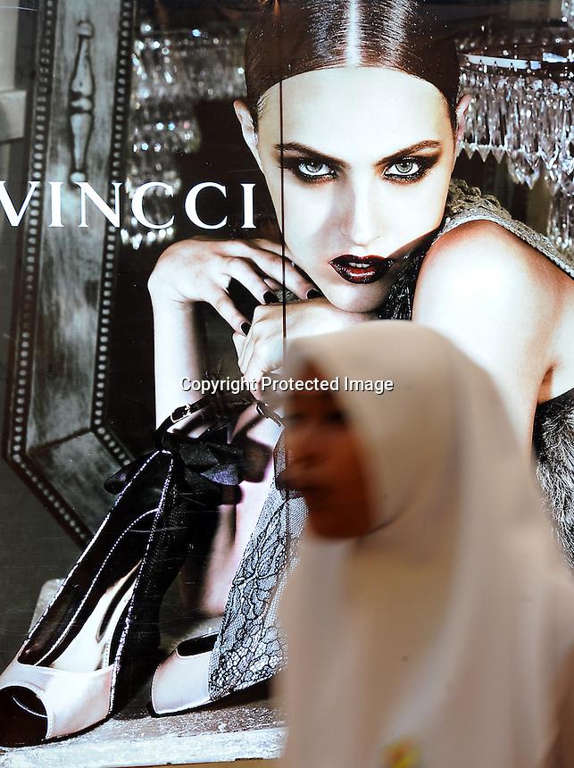 Vincci in the Suria KLCC,  Kuala Lumpur City Centre (KLCC),  located at the basement of the Petronas Towers in Kula Lumpur, Malaysia.<br /> 02-Nov-11