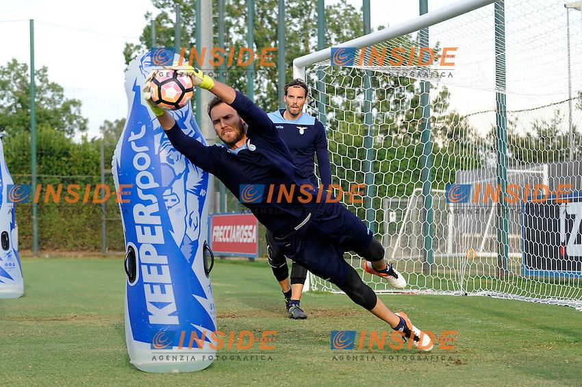 Etrit Berischa<br /> 02-08-2016 Roma<br /> Allenamento Lazio a Formello<br /> SS Lazio traning day<br /> @ Marco Rosi / Fotonotizia
