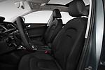 Front seat view of 2013-2016 Audi A4 Allroad Premium Quattro 4 Door Wagon front seat car photos