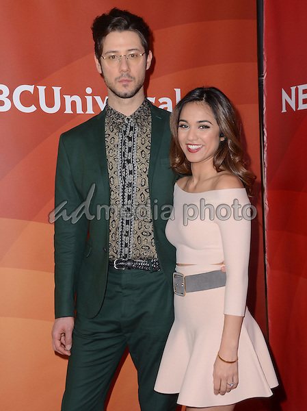 14 January  - Pasadena, Ca - Hale Appleman, Summer Bishil. NBC Universal Press Tour Day 2 held at The Langham Huntington Hotel. Photo Credit: Birdie Thompson/AdMedia