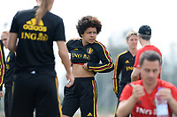 20180304 - LARNACA , CYPRUS :  Belgian Kassandra Missipo pictured during a Matchday -1 training from The Belgian Red Flames prior to their game against Austria , on Sunday 4 March 2018 at the Alpha Sports Grounds in Larnaca , Cyprus . This will be the third game in group B for Belgium during the Cyprus Womens Cup , a prestigious women soccer tournament as a preparation on the World Cup 2019 qualification duels. PHOTO SPORTPIX.BE | DAVID CATRY