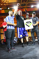 """ATLANTIC CITY, NJ : JUNE 8- Half brother of Meghan Markle, Thomas """"The Duke"""" Markle Jr,won his celebrity boxing match against Tim Kudgis, Saturday night at the Showboat Casino in Atlantic City, NJ after Henry """"Nacho"""" Laun did not show up for the fight June 8, 2019<br /> CAP/MPI09<br /> ©MPI09/Capital Pictures"""