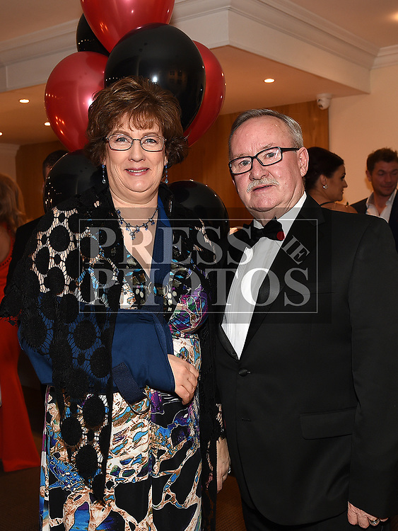 Jack and Brenda Burns at the Odie Wants to Walk Valentine Ball in the Glenside hotel. Photo:Colin Bell/pressphotos.ie