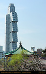 Ueno Bentendo, Sofitel Hotel, Shinobazu Pond, Ueno Park, Tokyo Japan
