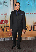 """10 January 2019 - Hollywood, California - Michael Greyeyes. """"True Detective"""" third season premiere held at Directors Guild of America.   <br /> CAP/ADM/BT<br /> ©BT/ADM/Capital Pictures"""