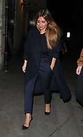 """Louise Redknapp at the """"9 To 5 The Musical"""" theatre stage door cast departures, Savoy Theatre, The Strand, London, England, UK, on Tuesday 09th April 2019.<br /> CAP/CAN<br /> ©CAN/Capital Pictures"""
