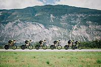 Team Mitchelton-Scott<br /> <br /> UCI MEN&lsquo;S TEAM TIME TRIAL<br /> Ötztal to Innsbruck: 62.8 km<br /> <br /> UCI 2018 Road World Championships<br /> Innsbruck - Tirol / Austria