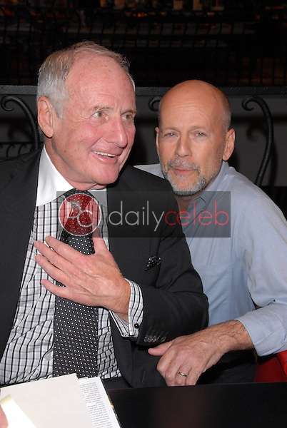 Jerry Weintraub and Bruce Willis<br />