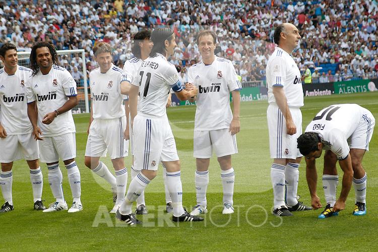 'Corzaon Classic, All for Africa'; friendly match Real Madrid vs Bayern Munchen veterans. Ruben de la Red...Photo: Cesar Cebolla / ALFAQUI