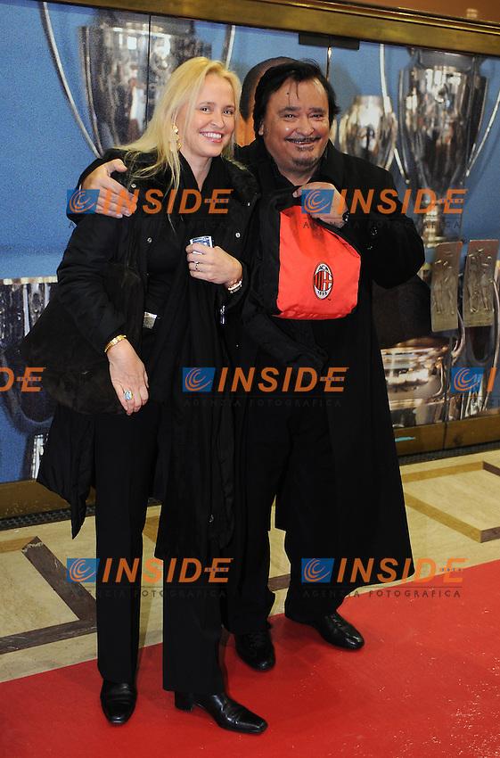 Umberto SMAILA<br /> Milano, 13/03/2011 Teatro Manzoni<br /> 25&deg; anniversario di presidenza Berlusconi al Milan<br /> Campionato Italiano Serie A 2010/2011<br /> Foto Nicolo' Zangirolami Insidefoto
