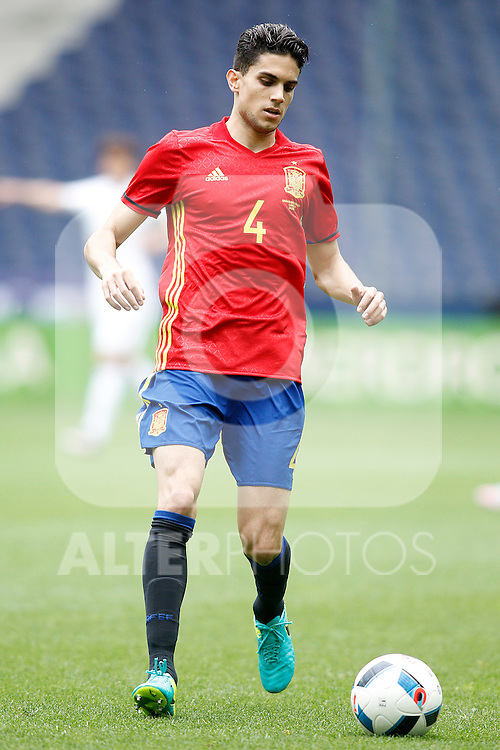 Spain's Marc Bartra during friendly match. June 1,2016.(ALTERPHOTOS/Acero)