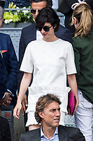 Paz Vega during the ATP final of Mutua Madrid Open Tennis 2017 at Caja Magica in Madrid, May 14, 2017. Spain. /NortePhoto.com