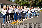Students from Presentation Secondary School, Tralee, who received their Junior Certificate results on Wednesday morning.
