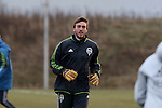 08 December 2016: Seattle's Tyler Miller. Seattle Sounders FC held a training session at the Kia Training Ground in Toronto, Ontario in Canada two days before playing in MLS Cup 2016.