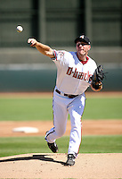 Max Scherzer / Phoenix Desert Dogs delivers a pitch on Opening Day in a game between the Mesa Solar Sox and the Desert Dogs at Phoenix Municipal Stadium - 10/07/2008..Photo by:  Bill Mitchell/Four Seam Images