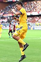 esultanza gol Paulo Dybala goal celebration<br /> Genova 26-08-2017 Stadio Marassi Calcio Serie A 2017/2018 Genoa -<br /> Juventus Foto Imagesport/Insidefoto