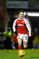 Ashley Hunter of Fleetwood Town on the ball during the Sky Bet League 1 match between Southend United and Fleetwood Town at Roots Hall, Southend, England on 13 January 2018. Photo by Carlton Myrie.