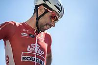 Thomas De Gendt (BEL/Lotto Soudal) pre race. <br /> <br /> Stage 5: Lorient > Quimper (203km)<br /> <br /> 105th Tour de France 2018<br /> ©kramon