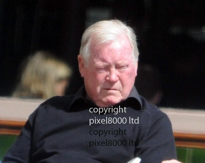 Pic shows: Hatton Garden trial evidence<br /> <br /> Police surveillance picture of <br /> <br /> John Collins at Scotti's Cafe in Clerkenwell Green on 17 April 2015<br /> <br /> <br /> <br /> Picture by  Pixel8000 07917221968
