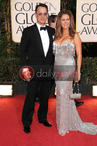 Tom Hanks and Rita Wilson<br />at the 66th Annual Golden Globe Awards. Beverly Hilton Hotel, Beverly Hills, CA. 01-11-09<br />Dave Edwards/DailyCeleb.com 818-249-4998