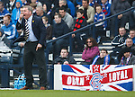 Ally McCoist demands more from his players