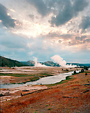 USA, Wyoming, Yellowstone National Park and Geyser Basin
