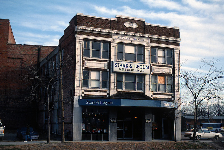 1992 January ..Redevelopment.Huntersville 1&2 (R-70)..ATTUCKS THEATRE.FRONT EXTERIOR LOOKING FROM CHURCH STREET...NEG#.NRHA#..