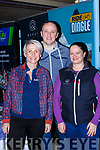 Kelly Crichton, Seamus O'Callaghan and Miriam O'Connell from Quest Adventure at the Balance expo in the INEC on Sunday