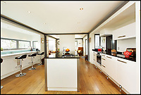 BNPS.co.uk (01202 558833)<br /> Pic: KnightFrank/BNPS<br /> <br /> A quirky home created in an abandoned Lutyens water tower which appeared on TV's Grand Designs has gone on the market.<br /> <br /> The Water Tower in Rolvenden, Kent, was built by the renowned architect Edwin Lutyens to supply a nearby manor house but transformed 90 years later by Bruno and Denise Del Tufo.<br /> <br /> Grand Designs presenter Kevin McCloud visited the couple twice and has previously said it was one of his favourites from the show.<br /> <br /> The unusual property, which perfectly combines old and new, is now for sale with Knight Frank for &pound;895,000.