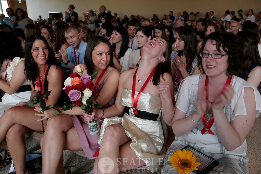 06122010- Nursing Pinning ceremony, Seattle University, campion ballroom
