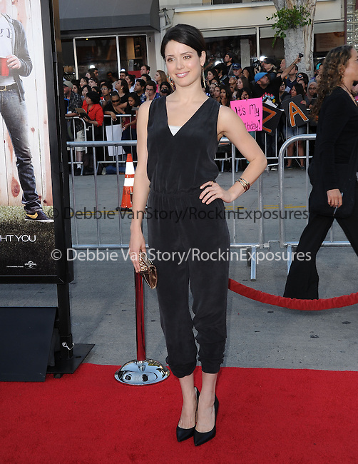 Ali Cobrin attends The Universal Pictures' World Premiere of Neighbors held at The Regency Village in Westwood, California on April 28,2014                                                                               © 2014 Hollywood Press Agency
