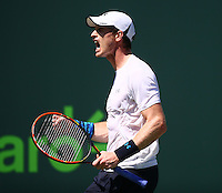 ANDY MURRAY (GBR)<br /> <br /> Tennis - MIAMI OPEN 2015 - ATP 1000 - WTA Premier -  Crandon park Tennis Centre  - Miami - United States of America - 2015