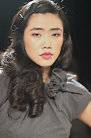 MAGALIS GARCIA F/W 2010 COLLECTION RUN SHOW.  SPONSORS BY YOUNGBLOOD Mineral Cosmetics, NINE WEST, BOUTIQUE 9.  MAKE UP: YOUNGBLOOD, MANICURES, PATTIE YANKEE FOR DASHING DIVA, HAIR: BUMBLE AND BUMBLE, STYLING: DONALD FITZGERALD, CASTING: JON JAMES CASTING