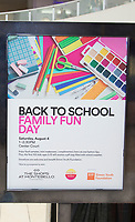 Back to School Family Fun Day Event 2018 on August 4th, 2018 in Los Angeles (Photo by Tony Ducret/Guest of a Guest