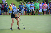 Michelle Wie (USA) watches her putt on 9 during round 2 of  the Volunteers of America Texas Shootout Presented by JTBC, at the Las Colinas Country Club in Irving, Texas, USA. 4/28/2017.<br /> Picture: Golffile | Ken Murray<br /> <br /> <br /> All photo usage must carry mandatory copyright credit (&copy; Golffile | Ken Murray)