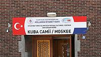 Nederland Amsterdam  2017. Amsterdam-Noord. De Kuba Camii / Moskee.  Foto Berlinda van Dam / Hollandse Hoogte